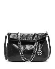 NWT Michael Kors Handbag Lacey Large Fold Over Leather Tote, Shoulder Bag $368