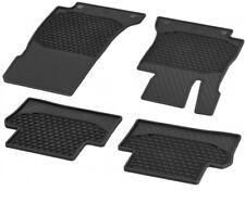 E CLASS CAR MATS PVC RUBBER 4 PIECE SET 2210 BLACK MERCEDES C
