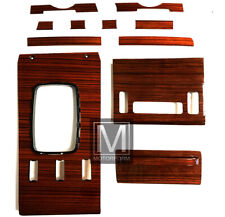 Mercedes SL R107 W107 Zebrano Holz Satz 500SL 380SL 280SL wood set 107 Holzsatz