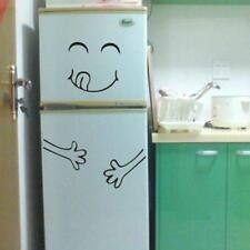 Fridge Happy Delicious Face Sticker Kitchen Decal Dining Room Refrigerator 6A