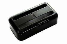 "Humbucker size Filtertron® pickup cover ""Jet Black Nickel"" fits Lollartron"