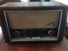 Antique Blaupunkt Tube Radio Drucktasten Super, Granada 3D Type 2330, Great Look
