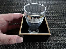 "Drink SAKE the ""real"" authentic way as done in Japan / Lacquer Masu + Glass"