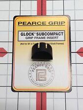 Pearce Grip Frame Insert Plug fits Glock Model 26 27 33 39 Gen 1-3 PG-GFISC