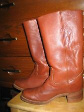 FRYE  Boots Men Tall Western Bootts 8.5 EE Made in USA.