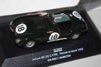 JAGUAR XK 120 type C N°18 1er Le Mans 1953 1/43 ( Quartzo )