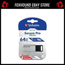 VERBATIM SECURE PRO USB 3.0 DRIVE 64GB - 98666