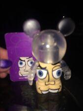 DISNEY 3'' VINYLMATION Big Eyes Buzz Lightyear NWT With Card and Box Toy Story