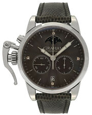 Graham Chronofighter 1695 Classic Lady Moon Quartz Watch 2CXBS.A02A