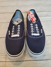 Vans Unisex •Size 6.5 or 8• Old Skool Pro Sty Navy Blue Classic Low Top Lace Up