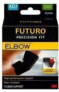 FUTURO Performance Comfort Precision Fit Elbow Support Adjustable 01038 Brace