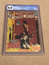 Wonder Woman 199 CGC 5.0 OW/White Pages (Hot/Controversial Bondage Cover)