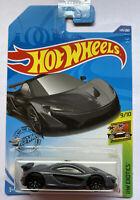 2020 Hotwheels McLaren P1 Grey HW Exotics! Very Rare! Mint! MOC!
