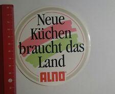 Aufkleber/Sticker: neue Küchen braucht das Land Alno  (13111656)