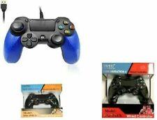 JOYSTICK PS4 COMPATIBILE CONTROLLER DUALSHOCK PER PLAYSTATION 4 CON FILO WIRED