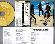 MOTORHEAD Ace Of Spades JAPAN CD UICY-60137 2009 limited w/OBI+BOOKLET Free S&H