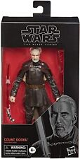 NEW IN STOCK! Star Wars The Black Series Count Dooku 6-Inch Action Figure HASBRO