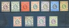 Hong Kong 1903 Edward 7th watermark crown CA set to $1 mint l.h. (2020/01/24#05)