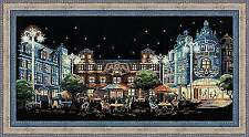 Counted Cross Stitch Kit RIOLIS - NIGHT CAFE