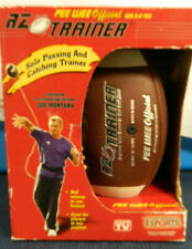 Nibhtf Rz Trainer Pee Wee Official Football Ages 6-9 Yrs Endorsed By Joe Montana