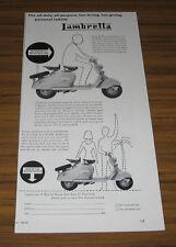 1955 Vintage Ad Lambretta Motor Scooters New York,NY