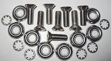 MGB Front Valance Fitting Kit rubber bumper cars - Stainless Steel