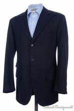 POLO RALPH LAUREN Blue Flannel CASHMERE WOOL Blazer Sport Coat Jacket - 38 R