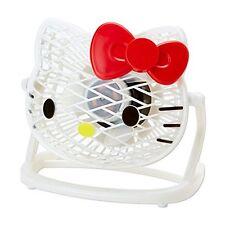 Sanrio Hello Kitty USB Fan Pearl White