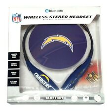 Mizco Sports Wireless Stereo Bluetooth Hands-Free Headset NFL San Diego Chargers