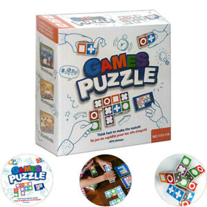 NEW Kids Games Puzzle Board Game Matching Toys Intelligence Development Toy Kit