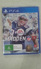 Madden NFL 17 Sony PS4 Brand New & Sealed Australia Version