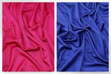 Plain Silk Stretch Jersey Dress Fabric (LX1-Cerise-M)