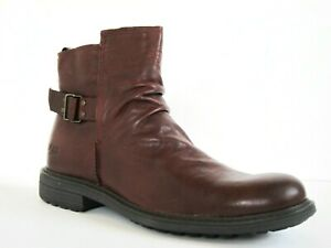 UGG Morrison Pull-On Cordovan Burgundy Leather Pull On Chelsea Boots SZ 9.5