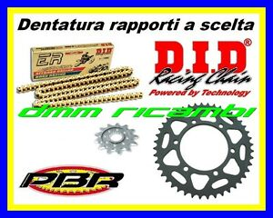 Kit Trasmissione Racing 520 SUZUKI GSX-R 1000 17>18 catena DID ERV3 2017 2018