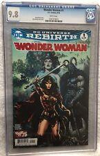 Wonder Woman #1 CGC Graded 9.8 2016 1397379015 Comic