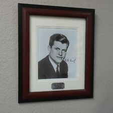 """Edward """"Ted"""" Kennedy Signed Early Framed Photograph"""