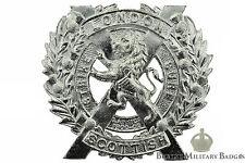 Staybrite The London Scottish Regiment Staybright Cap Badge - Anodised Aluminium