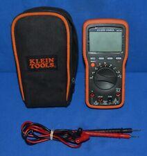 Klein Tools Mm1300 Electricians Hvac Backlit Voltage Current Multi Tester Meter