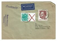 Germany 1960 GDR Cover to USA - Z588