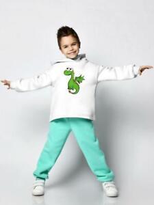 Cute Green Dragon Hoodie -Image by Shutterstock