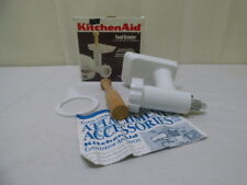 Kitchen Aid FGA White Stand Mixer Attachment Manual Food Grinder In Box