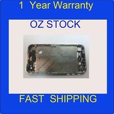 1xused iPhone 4 Metal Steel Bezel Frame Silver Middle Chassis Housing Plate