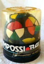 Vtg 1982 MILTON BRADLEY Cube Puzzle RUBICK'S IMPOSSIBALL Impossi-Ball COMPLETE