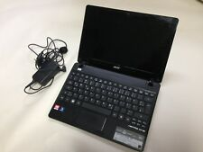 Acer Aspire One 725 12 in Ordinateur Portable Netbook c60 4 Go Ram 320 Go HDD win7