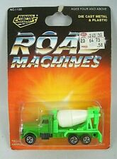 Road Champs Tomica Die Cast Peterbilt Cement Truck Green Body Carded