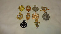 Collection / Job Lot Of 10 British Army/Military Hat/Cap Badges - Lot 2