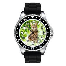 Sokoke Forest Kitten Cat Unisex Mens Ladies Silicone Strap Wrist Watch Se304
