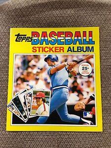 1981 Topps Baseball Sticker book unused Album George Brett KANSAS CITY ROYALS