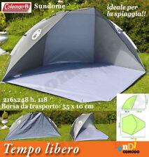 SUNDOME COLEMAN Tenda parasole spiaggia sole vento ombrellone camping campeggio
