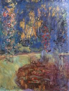 Claude Monet, Jardin de Giverny, Treasures from the RHONE-ALPES, Large Poster.